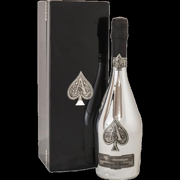 Ace o Spades Blanc de Blanc with case