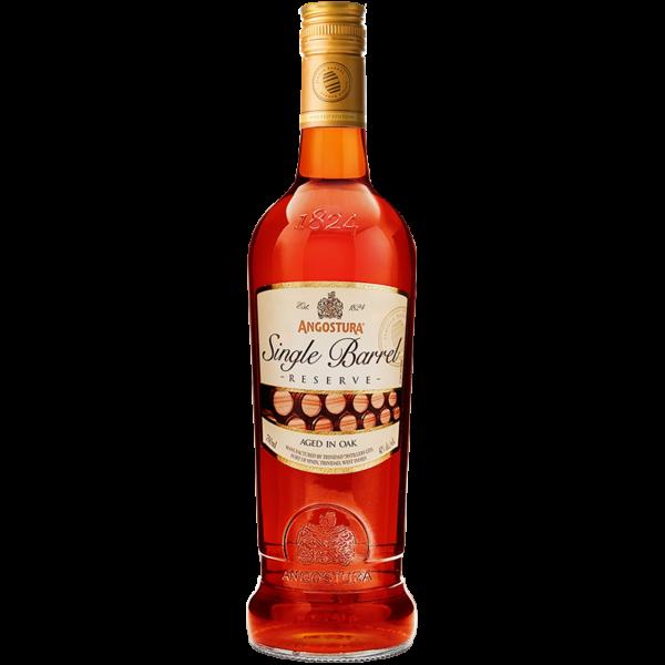 Bottle of single barrel reserve 750ml