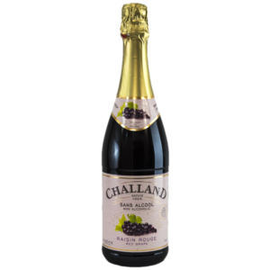 Challand Red Grape Sparkling Juice