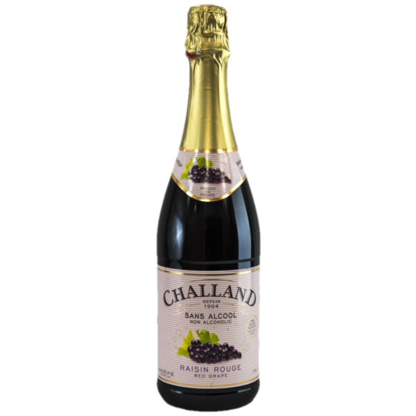 Challand Red Grape Sparkling Juice