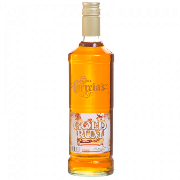 Correias Gold Rum 40% 750ml